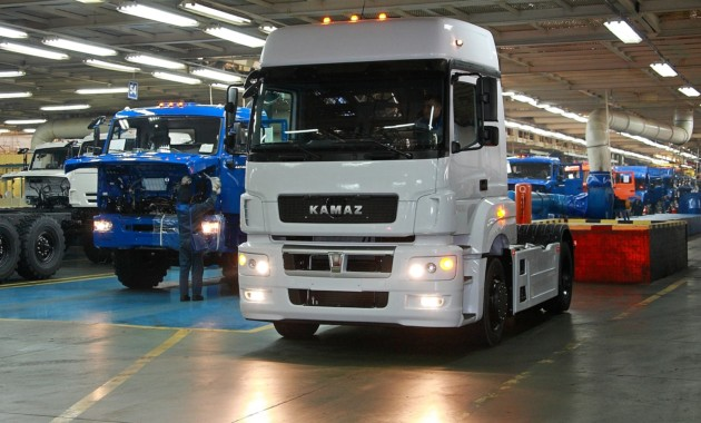 ВIполугодии прибыль КамАЗа увеличилась на34%