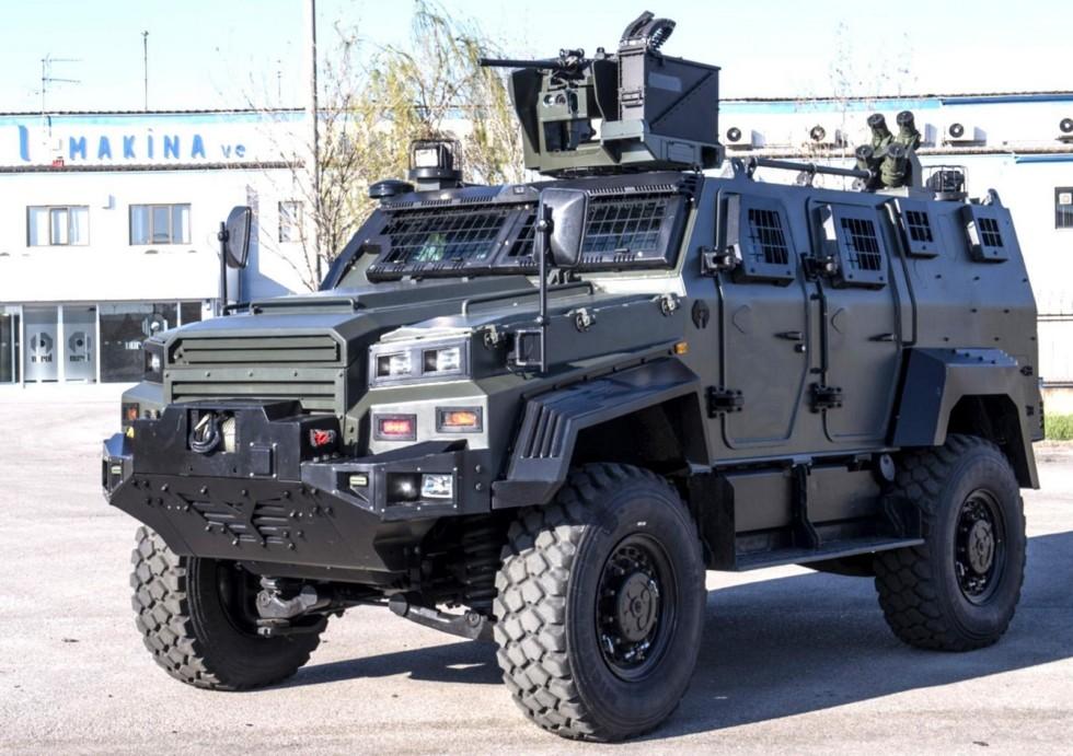 Новая боевая бронемашина Nurol Ejder Yalcin с пулеметным модулем
