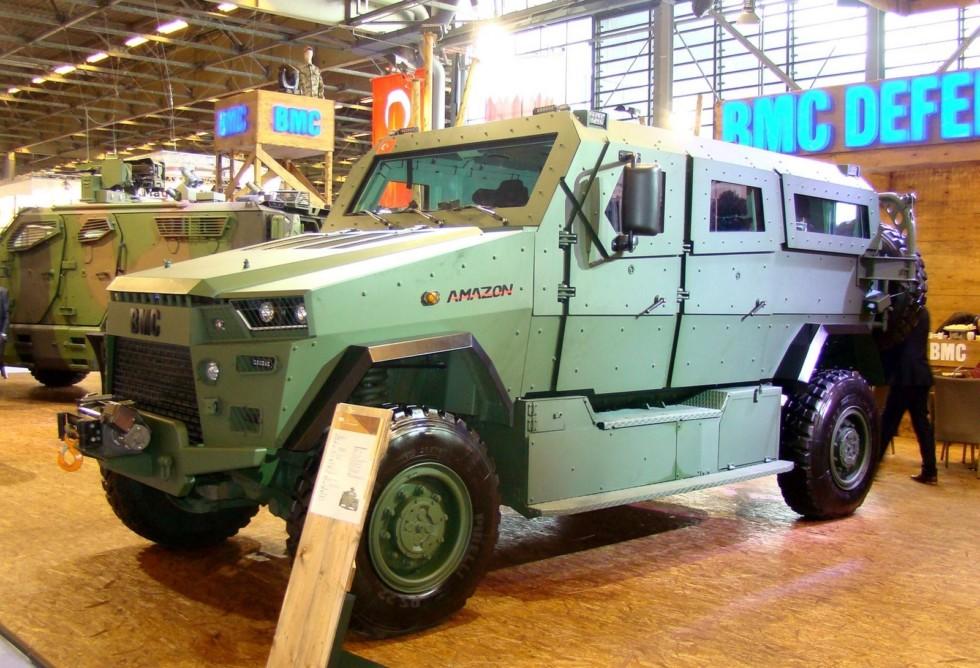 Катар заказал 1500 турецких бронированных машин Amazon