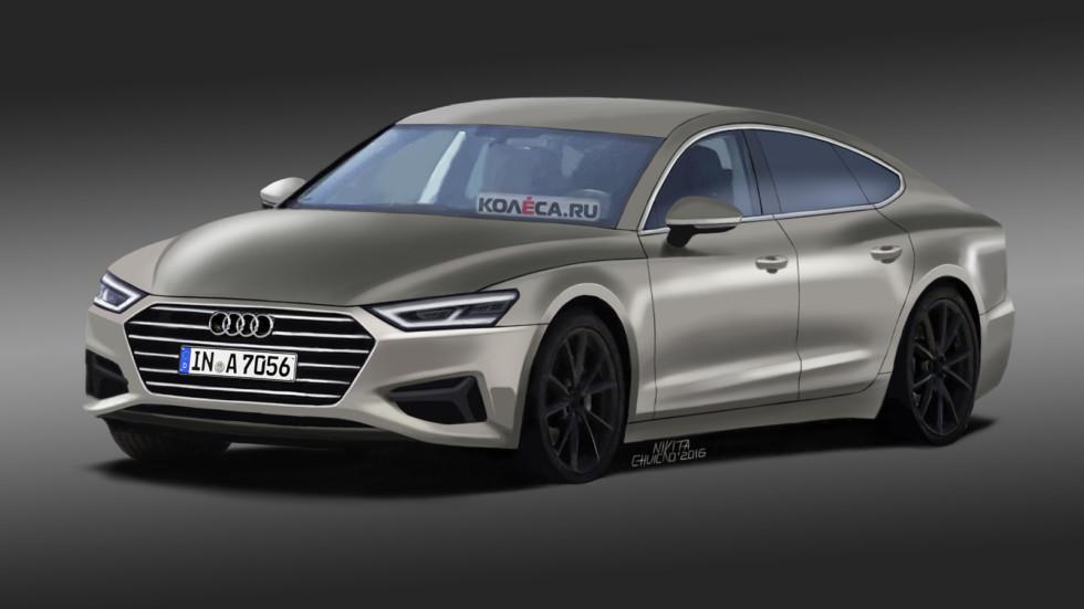 Audi A7 Sportback front