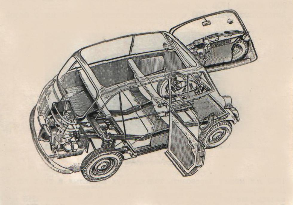 BMW 600 – рекордсмен по эффективности использования объема кузова