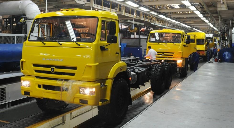 «КАМАЗ»: заполгода прибыль возросла на34%, до47,2 млн. руб.
