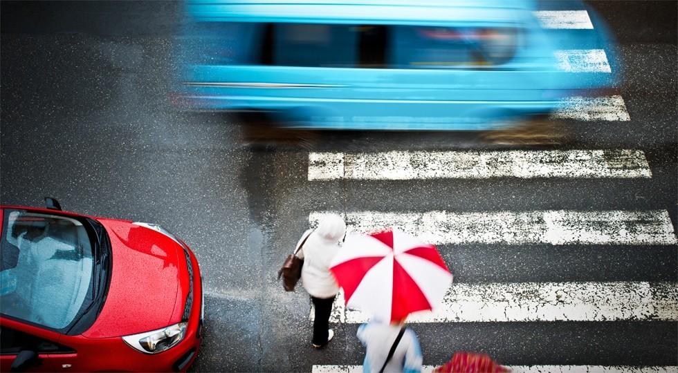 Треть пешеходных переходов около школ используются снарушениями— ГИБДД