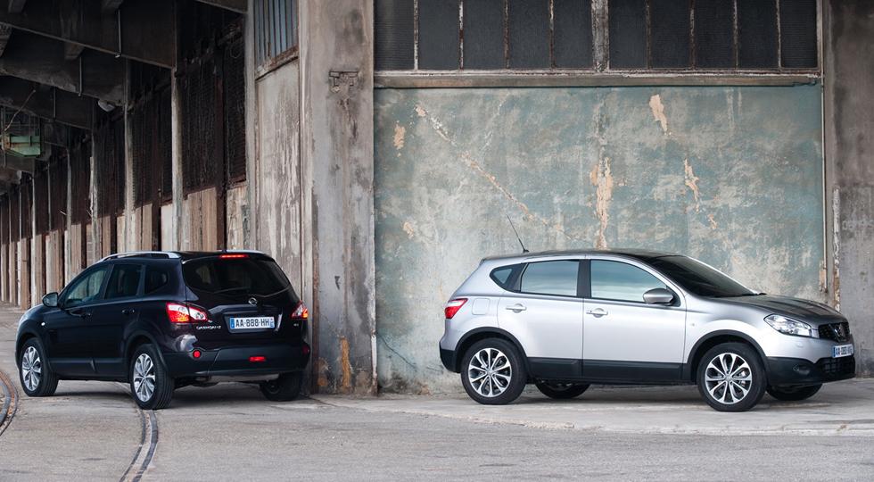 На фото: Nissan Qashqai+2`2010