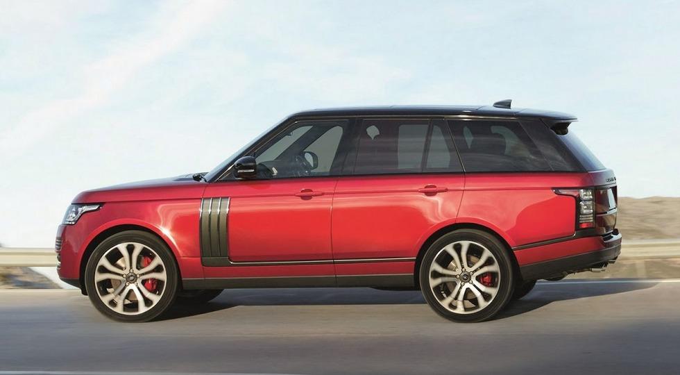 На фото: Range Rover SVAutobiography Dynamic