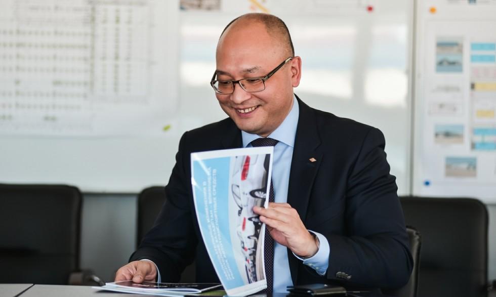 Президент «Азия Авто» Ерик Сагымбаев
