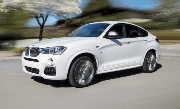 В РФ начались продажи топовой модификации кроссовера БМВ Х4