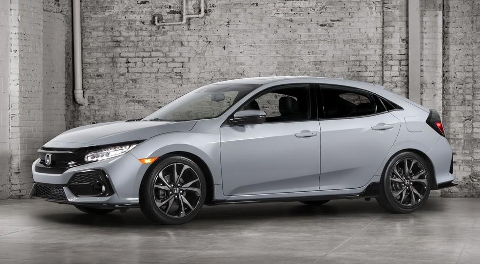 Новый тип хэтчбека Хонда Civic «засветили» папарацци