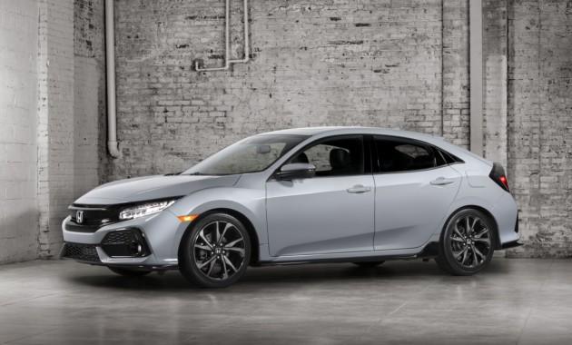Хэтчбек Хонда Civic появился на«шпионских» фотографиях