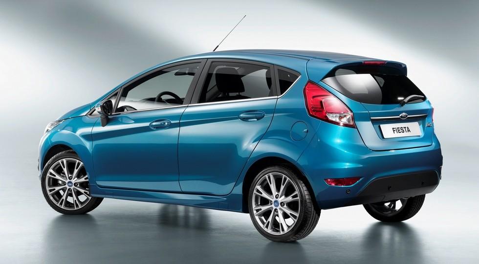 Форд Fiesta обновленного поколения представят уже в2015-м году