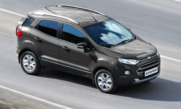 В РФ выпущен юбилейный кроссовер Форд EcoSport