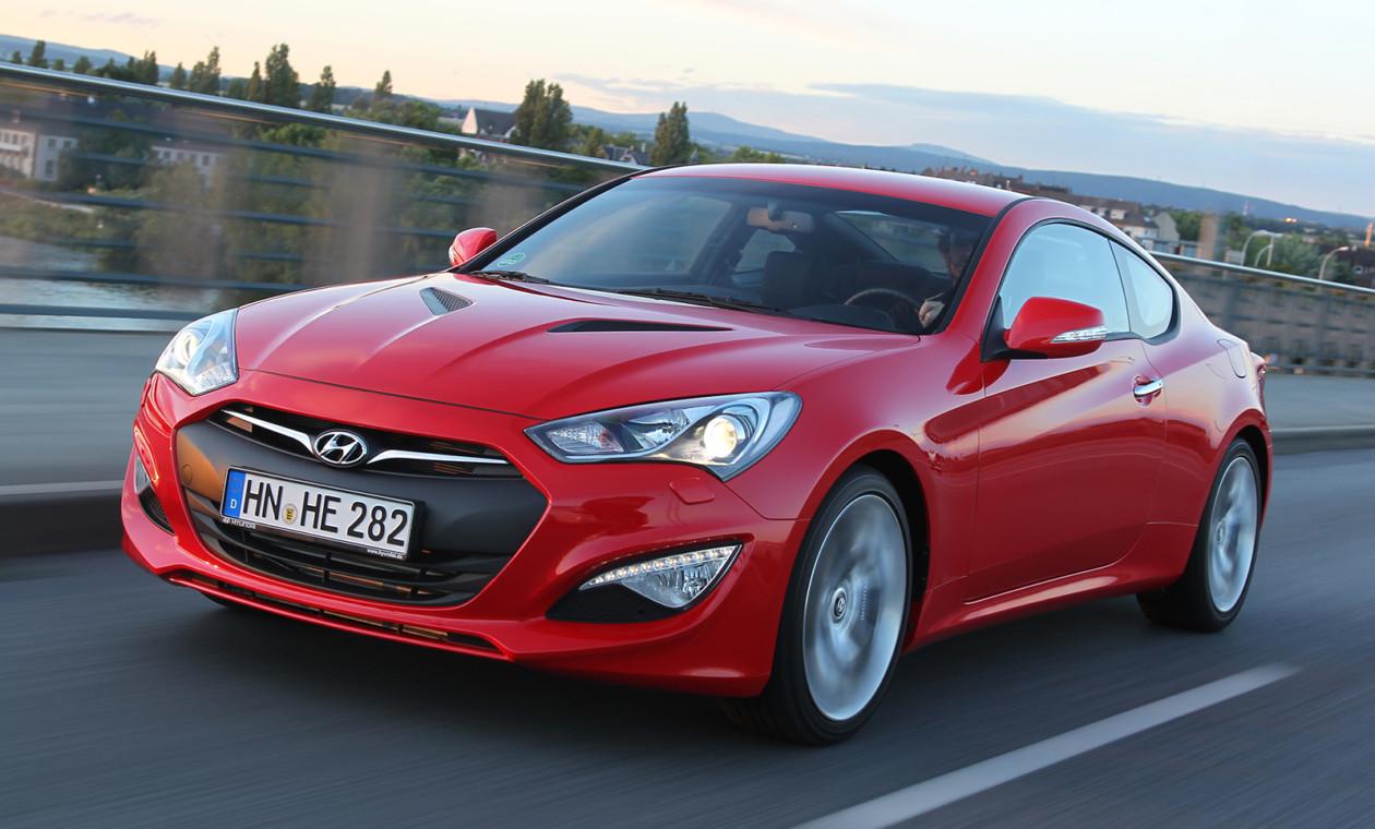 Компания Хёндай прекратит серийный выпуск купе Genesis Coupe