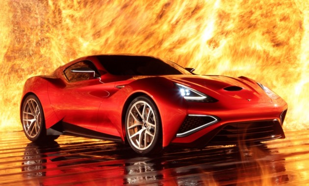 Титановый суперкар Icona Vulcano продадут поцене в $2,78 млн.