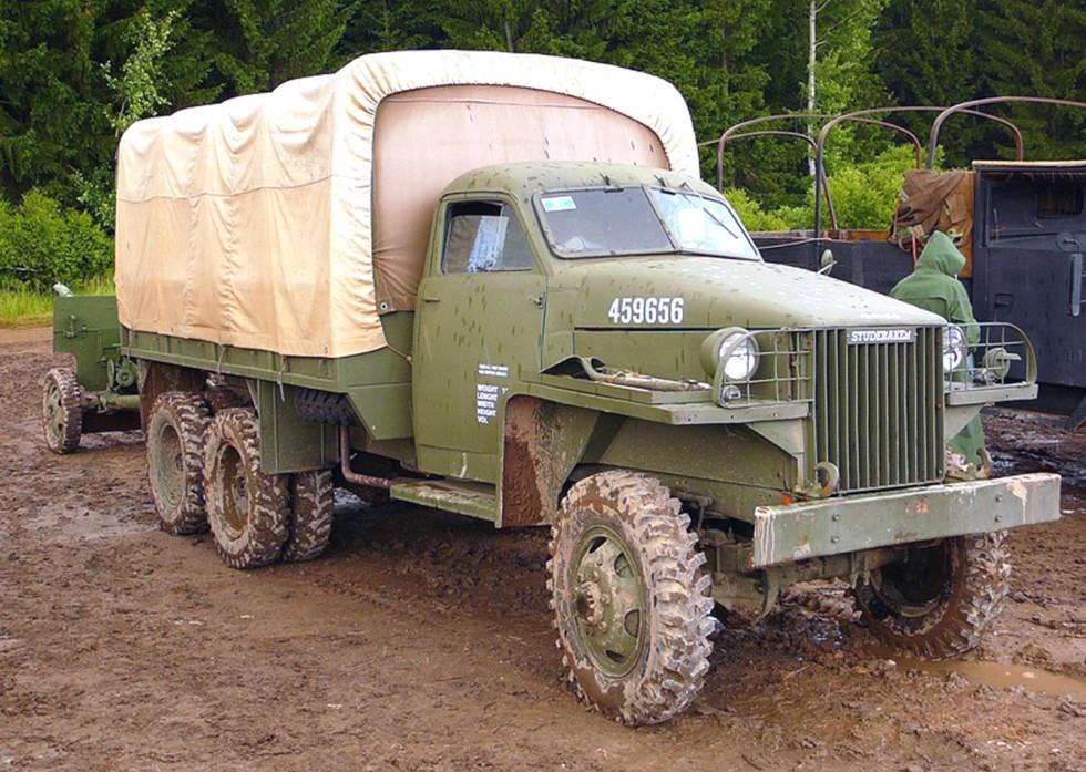 Грузовик Studebaker US6-U3, применявшийся в армии Чехословакии