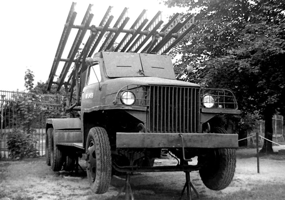 Самая распространенная «катюша» БМ-13 на базе Studebaker US6-U7 (фото автора)
