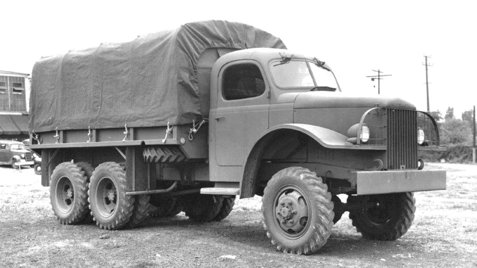 Опытный 2,5-тонный полноприводный грузовик 23BHRS компании REO