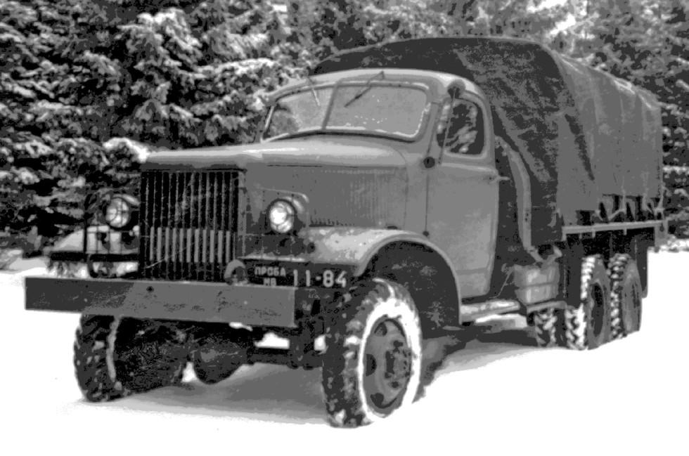 Прототип ЗИС-151 с узлами от «Студебекера» (из архива М. Соколова)