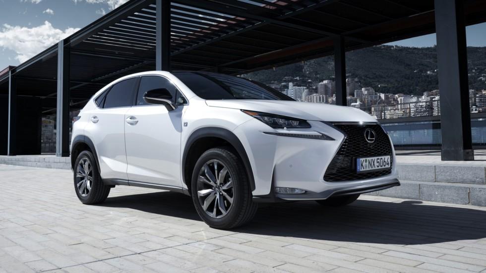 NX и LX - «локомотивы» продаж Lexus в России