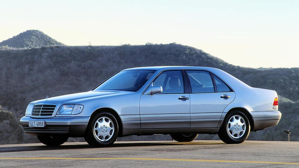 На фото: Mercedes-Benz S280 (W140) `1994-96