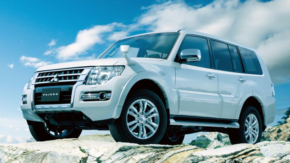 На фото: актуальная версия Mitsubishi Pajero