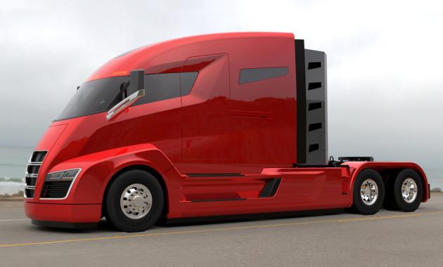 Супергрузовик Nikola One будет заправляться водородом