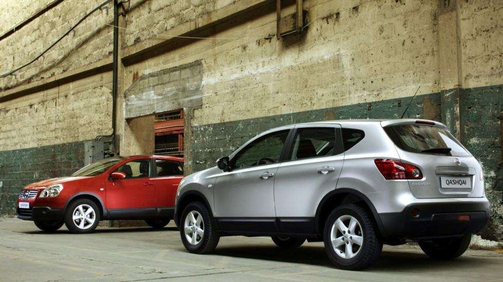 На фото: Nissan Qashqai '2007–09