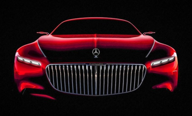 Новая двухдверка Mercedes-Maybach показала лицо