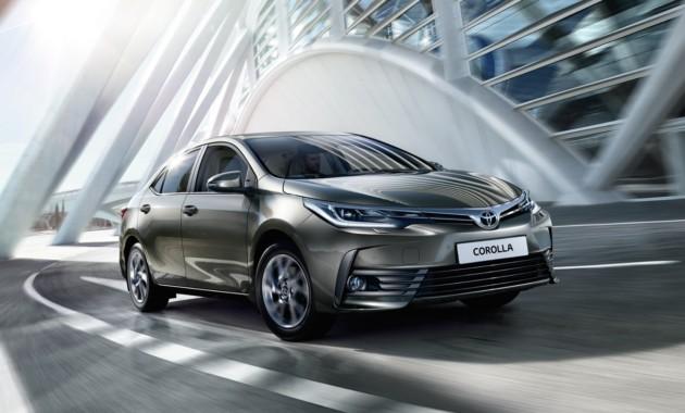 25АвгНачались продажи обновленного седана Toyota Corolla