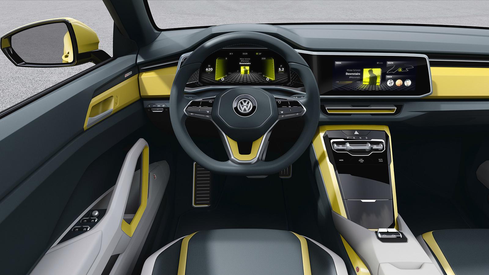 В 2018-ом VW представит новый компактный T-Cross