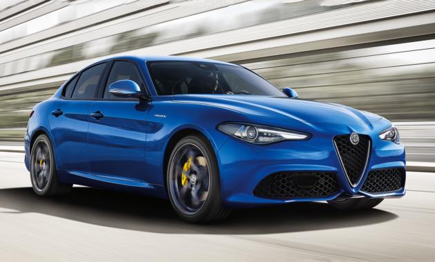Седан Альфа Ромео  Giulia получил новые версии
