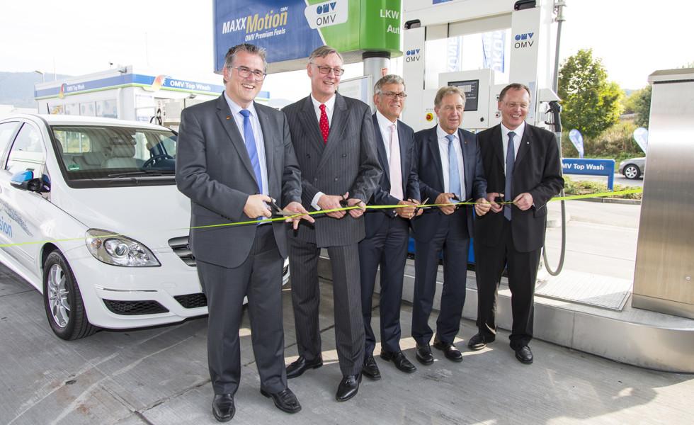 Wasserstofftankstelle in Metzingen feierlich eröffnet
