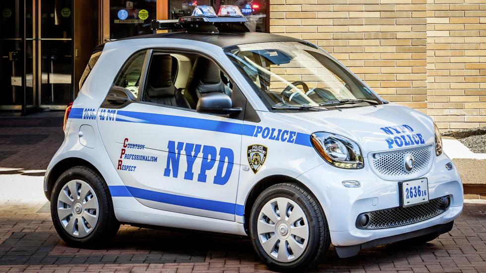 Милиция Нью-Йорка пересядет на Смарт