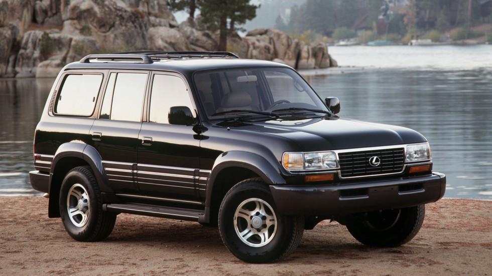 На фото: Lexus LX 450 (FZJ80) '1996–1998