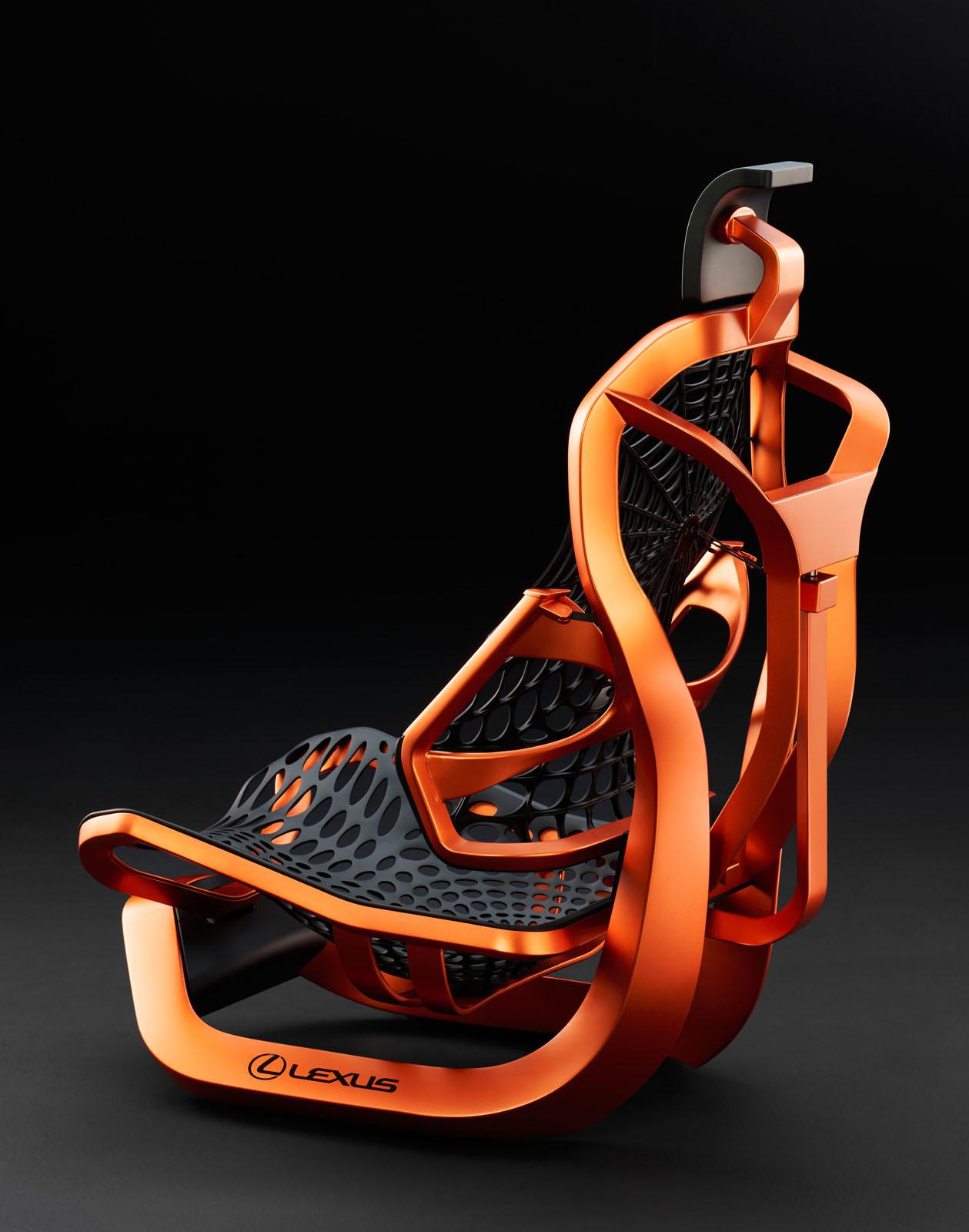 Паутина вдохновила Лексус насоздание новейшей конструкции автомобильных сидений