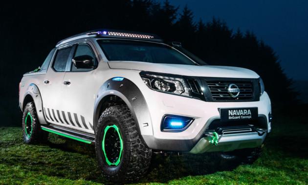 Ниссан представил новый концепт-кар пикапа Navara EnGuard