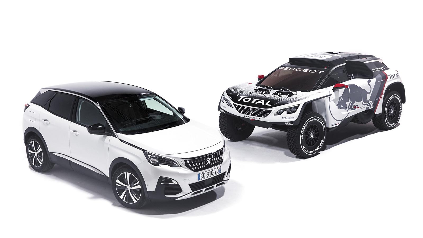 Peugeot (Пежо) представила новейшую машину 3008 DKR