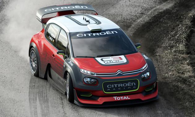 Ситроэн покажет концептуальный автомобиль C3 WRC на автомобильном салоне встолице франции