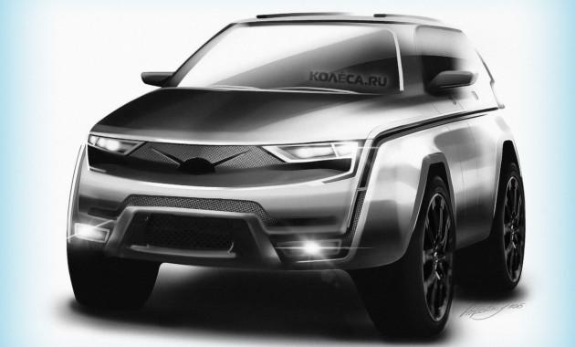 Кроссовер УАЗ-3170 может получить китайскую трансмиссию