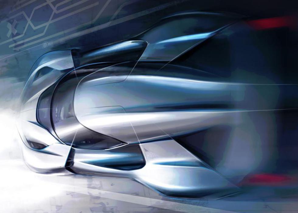 Винтернете размещены изображения нового гиперкара NextEV