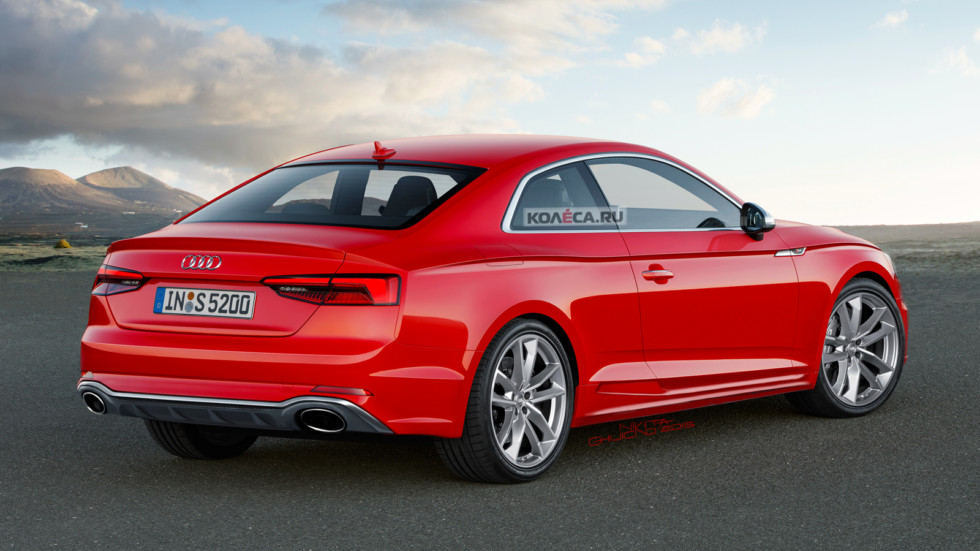 Audi RS5 rear1