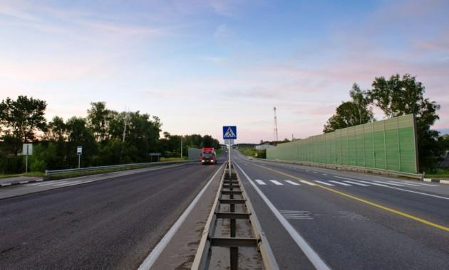 После реконструкции под Калугой открыли участок дороги М-3 «Украина»