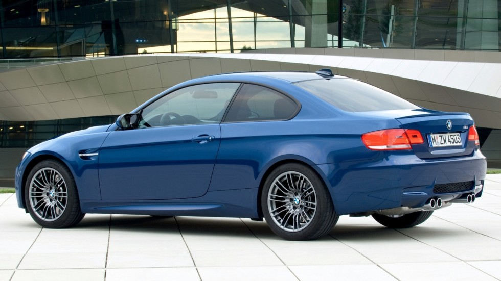 На фото: BMW M3 Coupe (E92) '2007–2013