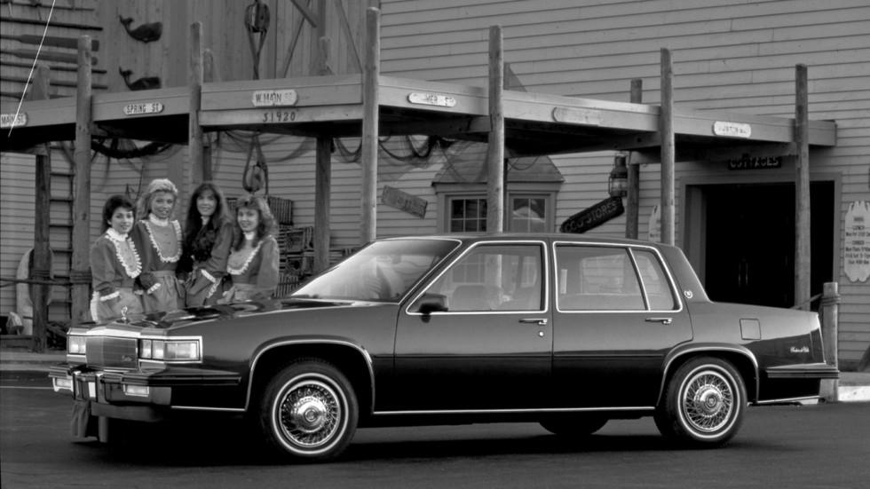 Cadillac Sedan de Ville '1986