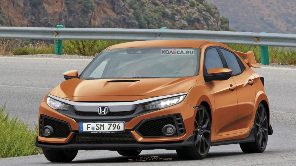 Honda Civic Type-R front