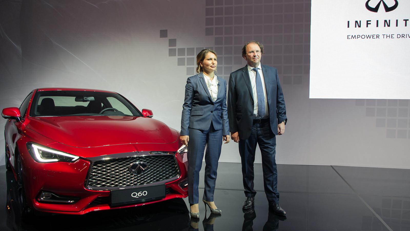 Компания Инфинити представила в Российской Федерации новое купе Q60 Coupe