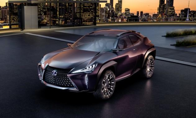 Концепт Lexus UX – прообраз маленького серийного кроссовера