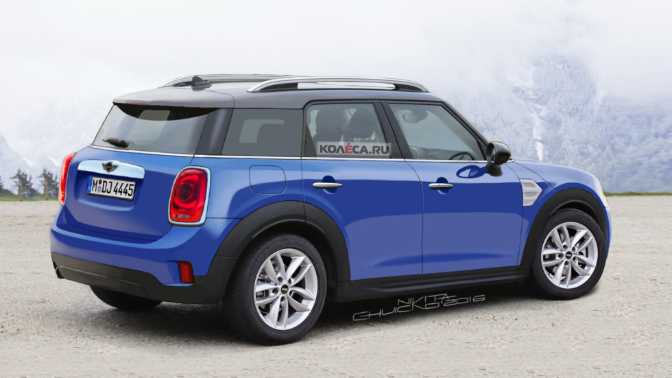 Mini Countryman rear