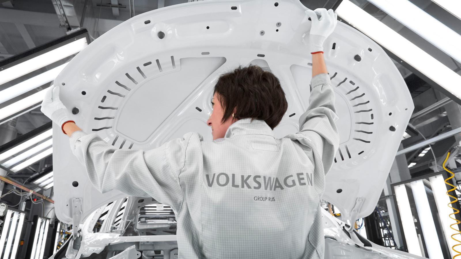 Фольксваген предсказывает увеличение объемов продаж в Российской Федерации на10%