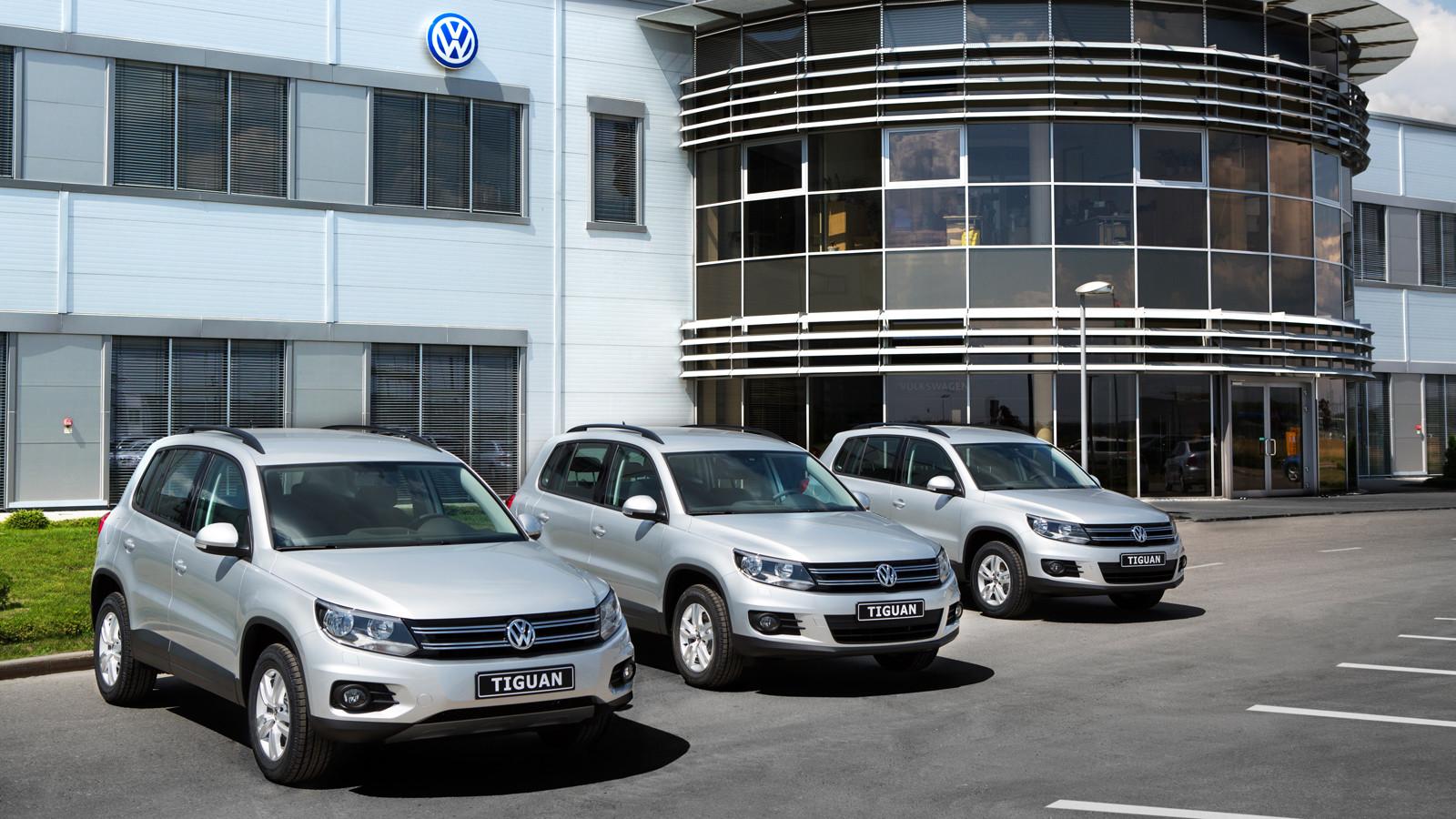VW планирует увеличить продажи в Российской Федерации на10%