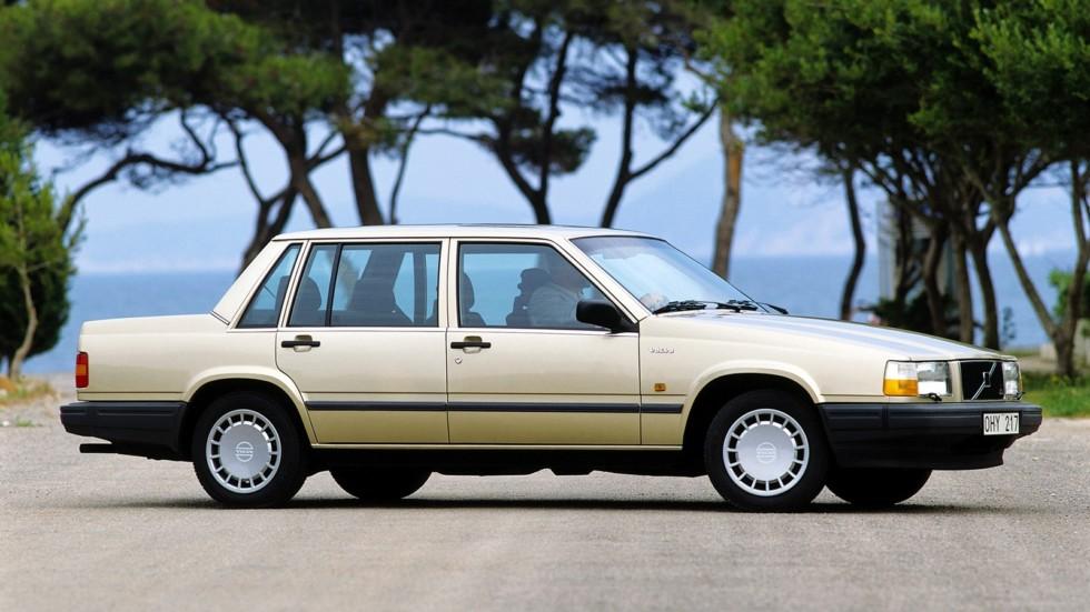 На фото: Volvo 740 GLE 1984–1991